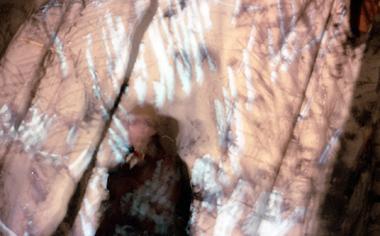 Blurry art-shot of Emily Farina by Ahasiw